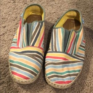 Striped toms espadrille